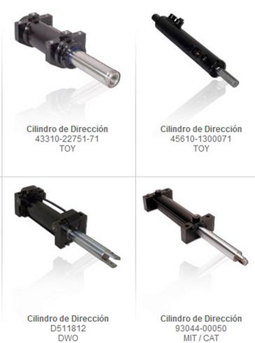 cilindros direccion traccion partes y refacciones montacargas mexico