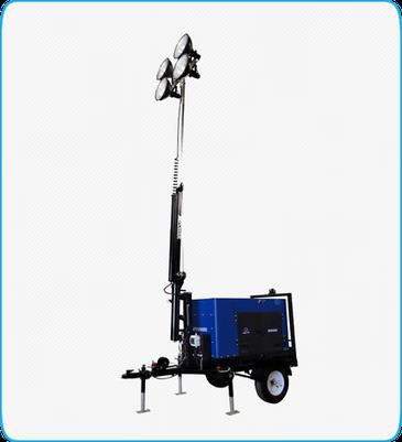 Torre de iluminación a Diesel Mpower TI8.8
