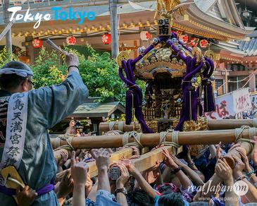 平成30年度, 湯島天満宮例大祭, 湯島天神, 4年に一度, 神幸祭, 本社神輿, 連合宮入