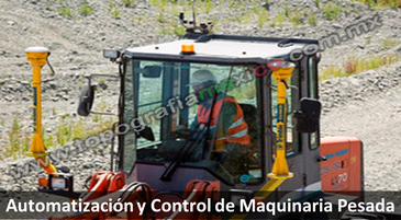 automatizacion y control de maquinaria pesada