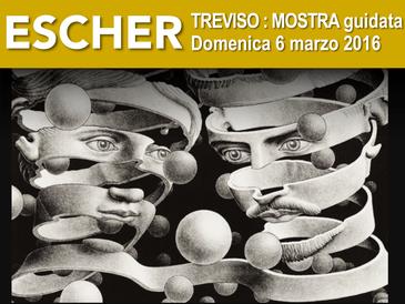 Trieste Visita Guidata Mostra ESCHER, Casa Cultura David Ferriz
