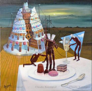 Utopie pâtissière - Claude Rossignol
