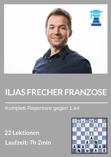 Schach Eröffnungskurs, Französisch gegen 1.e4, Ilja Zaragatski