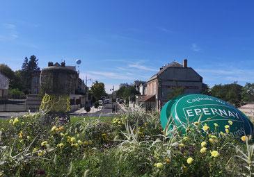 Champagne streek Epernay