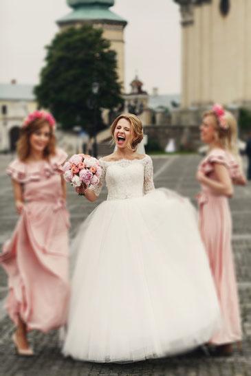 Hochzeit – Brautfrisuren