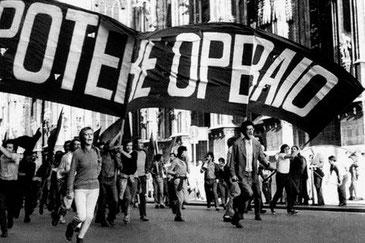 'Potere Operaio' - de italienske operaisters kamporganisation (th. Antonio Negri)