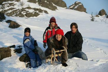 Wintersport im Oberpfälzer Wald