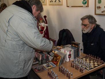 Zinnschachspiele aus Zühlsdorf