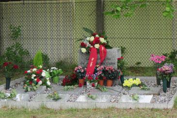 Gedenkstätte gefallener Sowjetsoldaten in Zühlsdorf