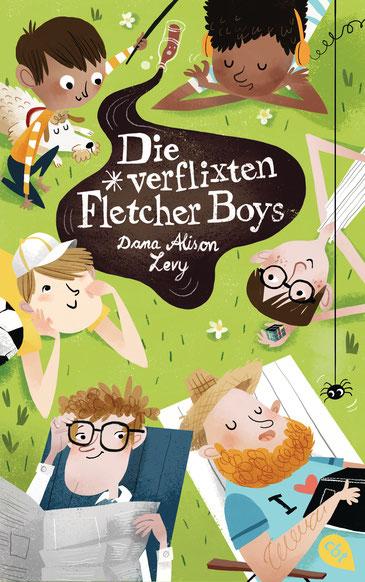 Buchcover Die verflixten Fletcher Boys