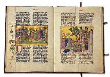 Bibel im Auftrag des Ludwig VII. dem Bärtigenvon Bayern-Ingolstadt, um 1430 (Faksimile)