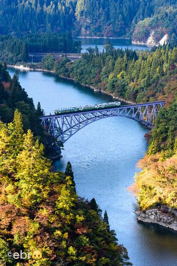 只見川第一橋梁