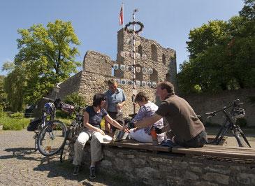 Burgruine Bad Lippspringe © Touristikzentrale Paderborner Land e.V.