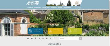 Site internet de la ville de Saint-Calais