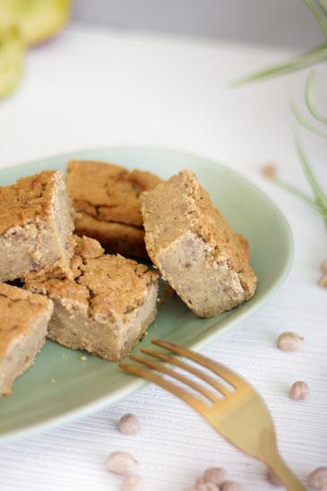 Hafer-Kichererbsen-Kuchen