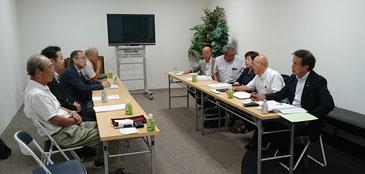 福井県敦賀市会議員の皆さんとのミーティング