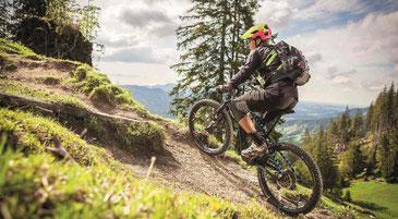 Das Fahrgefühl des Shimano E7000 e-Bike Antriebssystem kommt dem eines herkömmlichen Mountainbikes sehr nahe