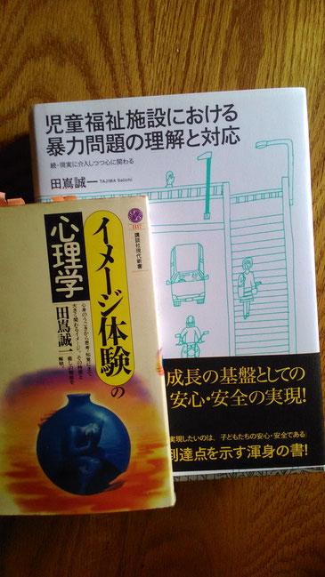 田嶌誠一「イメージ体験の心理学」と「児童福祉施設における暴力問題の理解と対応」