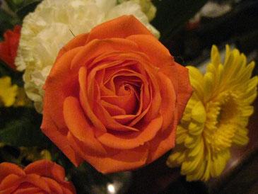 かわいい花束、ありがとうございます!