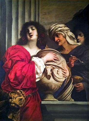 Ca' Rezzonico - Il vaso di Pandora (Inv.70) - Pietro della Vecchia, Public Domain, via Wikimedia Commons