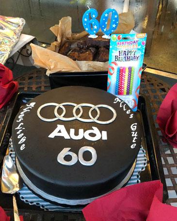 Audi Torte Rocher-Füllung