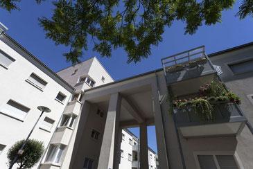 Gehobene Wohnkultur, zeitlos modern: Die Ebert-Siedlung in Ludwigshafen. Fotos: Stadt Ludwigshafen