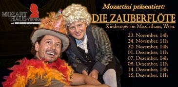 Mozartini präsentier: Die Zauberflöte (c) Oper@Tee