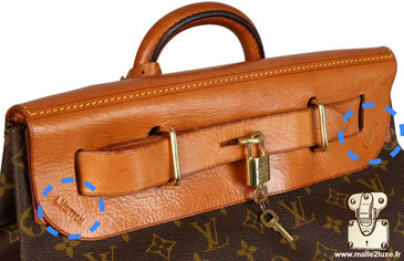 expertise sac steamer bag Louis Vuitton 1959 toile monogramme