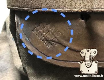 marquages Louis Vuitton steamer bag 1er et 2eme generation