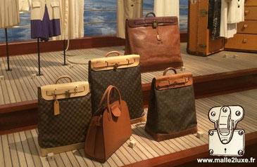Steamer bag Louis Vuitton histoire