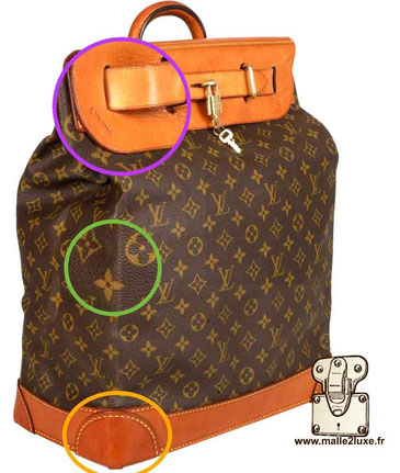 Steamer bag expertise. secret Louis Vuitton