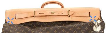 1996 steamer bag Louis Vuitton rabat sac de luxe