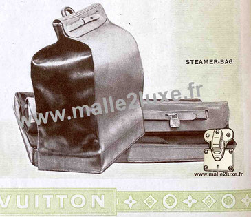 Page 54 - Catalogue Louis Vuitton 1914 - Steamer bag