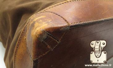 coin cousu main steamer bag Louis Vuitton