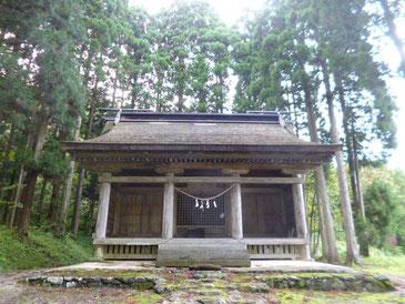 保呂羽山波宇志別神社(秋田県)