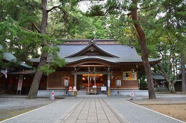 陸中一宮駒形神社(岩手県)