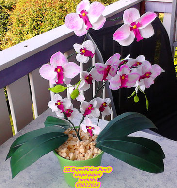 Crepe Paper Orchids