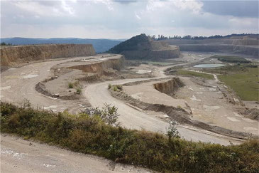 Mit der Süderweiterung wird's erstmal nix: Das Landratsamt lehnte den Antrag des Zementherstellers Holcim ab.   © Nicole Leukhardt