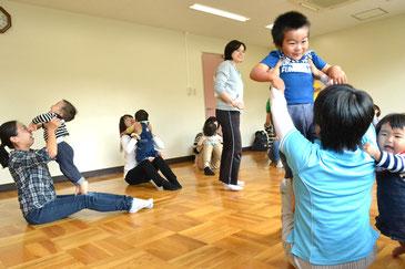 のびのびクラブ 親子体操