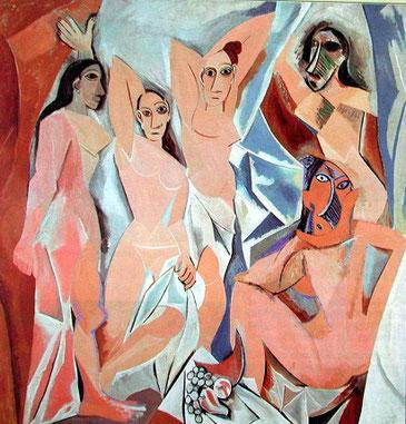 Пабло Пикассо - Авиньонские девицы