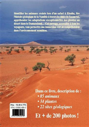 """Guide de voyage """"Géologie, faune et flore de Namibie"""""""