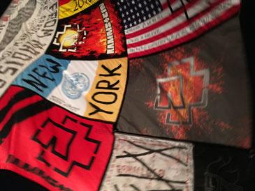 Große Rammstein-Fanflagge
