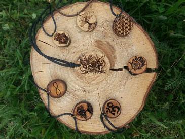 Holzschmuck von Nature Craft
