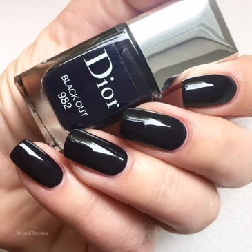 swatch Dior Black Out 982 by LackTraviata
