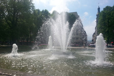Brunnen auf der Karl Johan Gate
