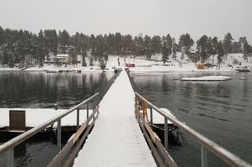Brücke von Nesøya nach Brønnsøya