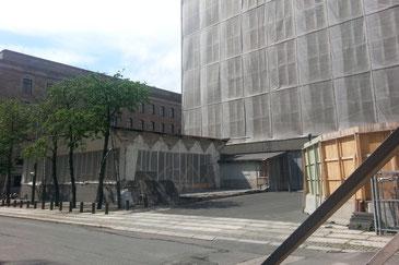 Ort des Anschlags: Regierungshochhaus