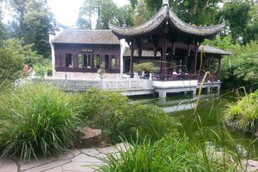 Chinesischer Garten im Bethmannpark