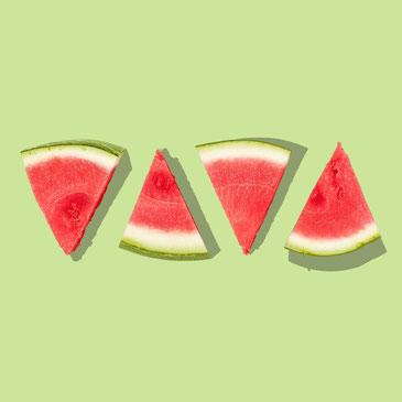 Melonen, man darf den Spaß nicht vergessen und muss vieles mit Humor nehmen.