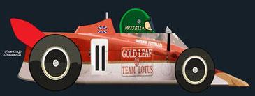 Reine Wisell by Muneta & Cerracín - Lotus 56B - Pratt & Whitney turbina